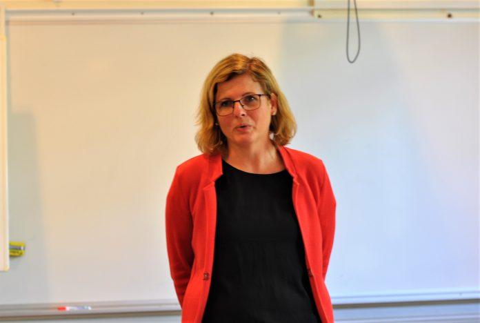 Helena Balthammar vill skapa förutsättningar för vård av de mest utsatta barn- och ungdomarna. Foto: Tommy Pettersson